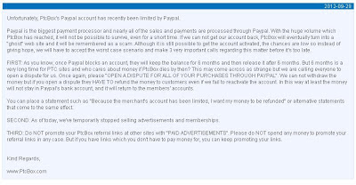 PTC Box Scam, Informasi Bisnis Internet