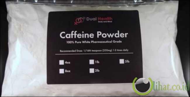 Overdosis bubuk Kafein
