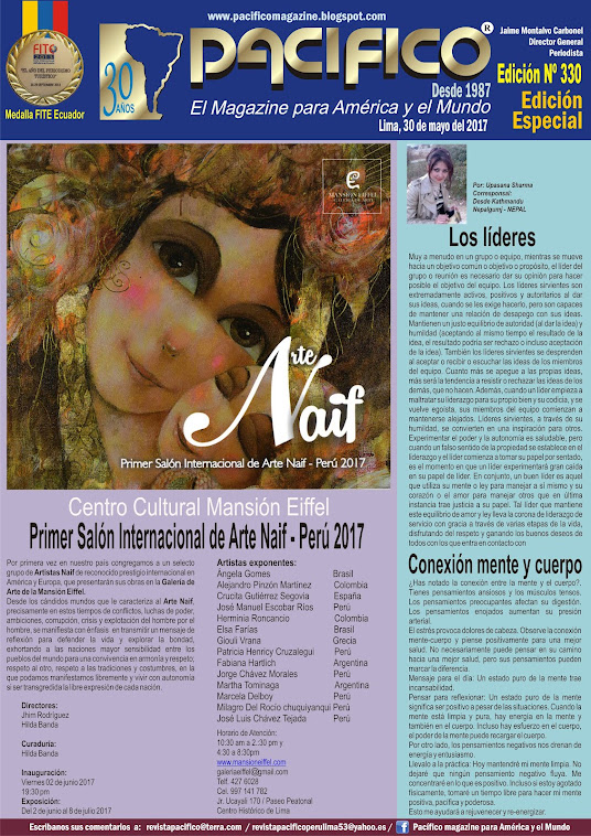 Revista Pacífico Nº 330 Edición Especial
