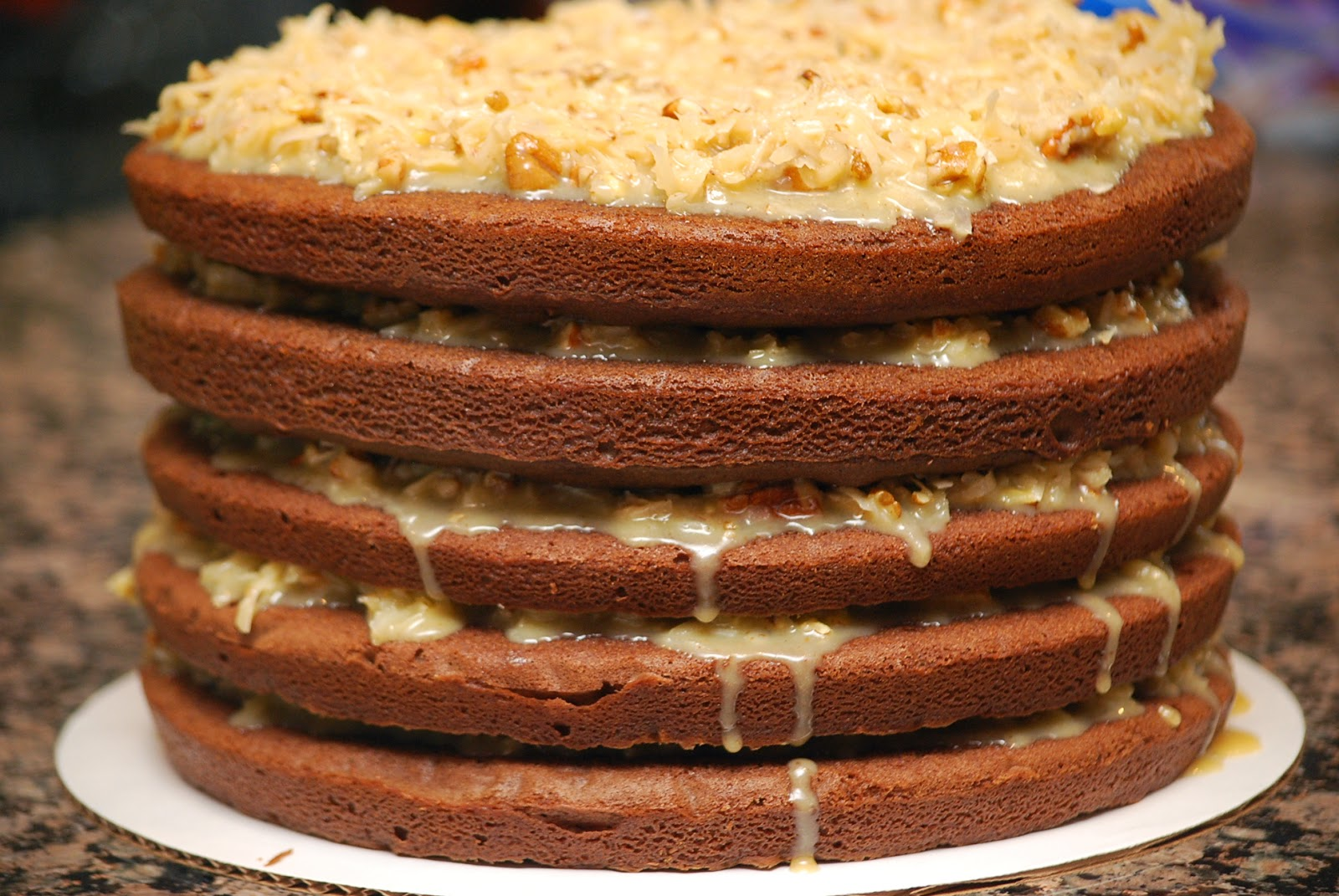 My story in recipes: German Chocolate Cake