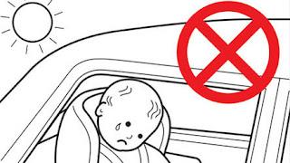 Μητέρα Τέρας κλείδωσε τα παιδιά της μέσα στο αυτοκίνητο με υψηλή θερμοκρασία