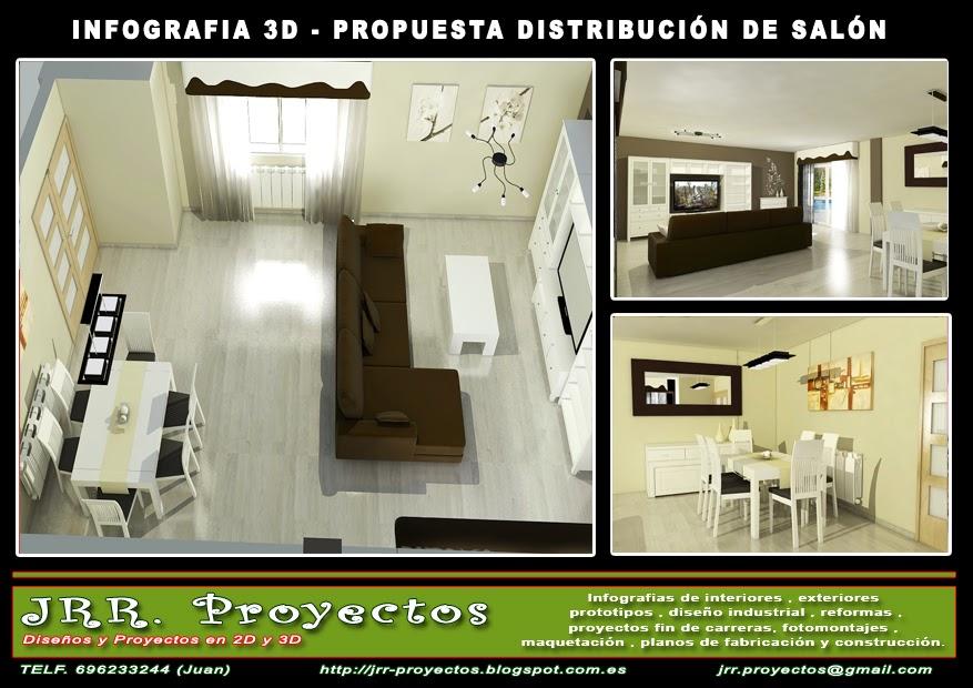 Jrr proyectos distribucion sal n - Distribucion salon ...