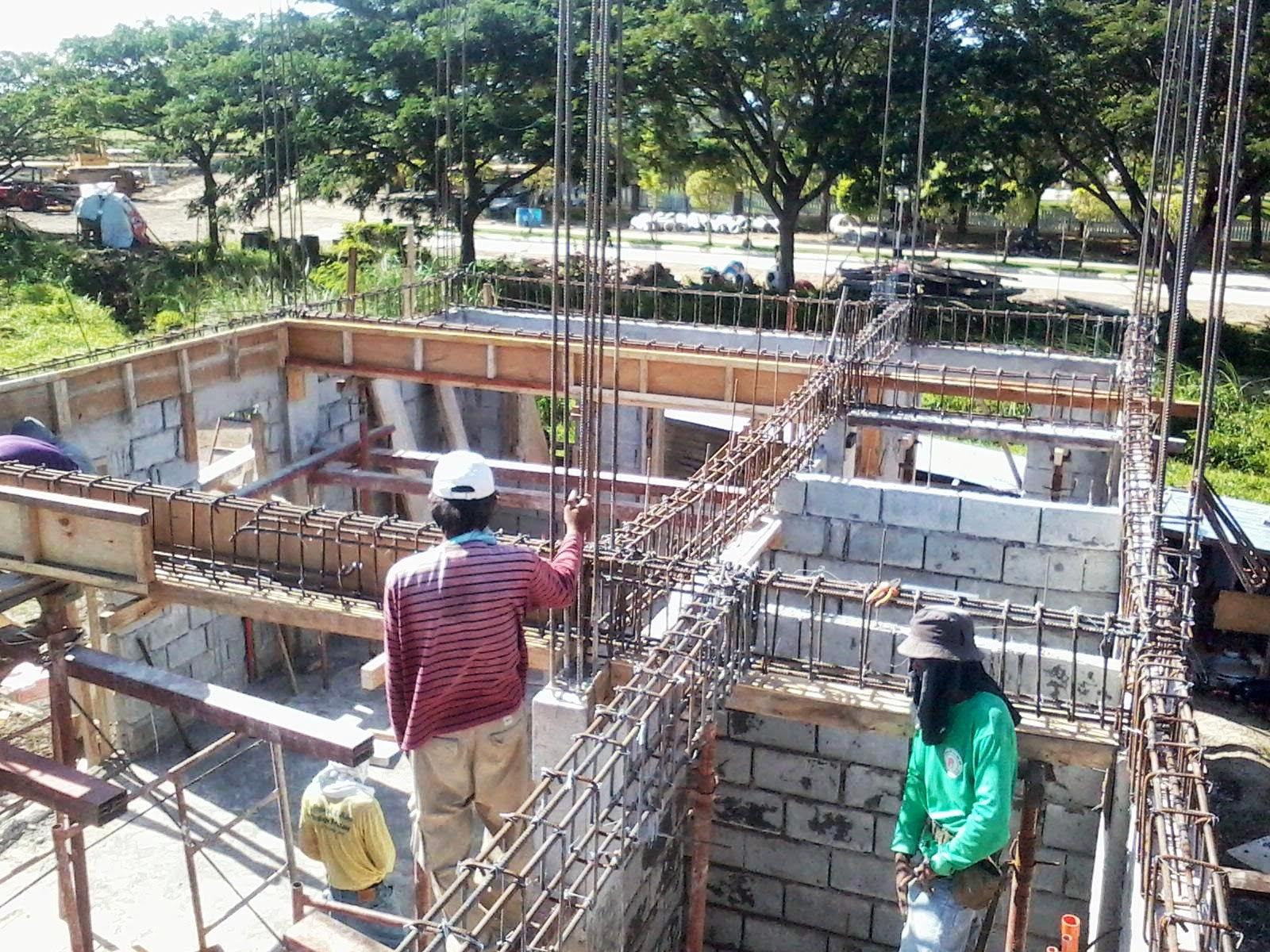 Savannah trails house construction project in oton iloilo for Balcony designs philippines