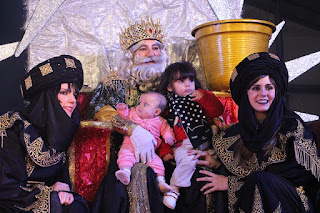 Recepción de los Reyes Magos en Barakaldo