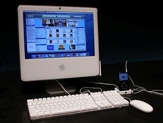 презентация моноблока Apple iMac G5