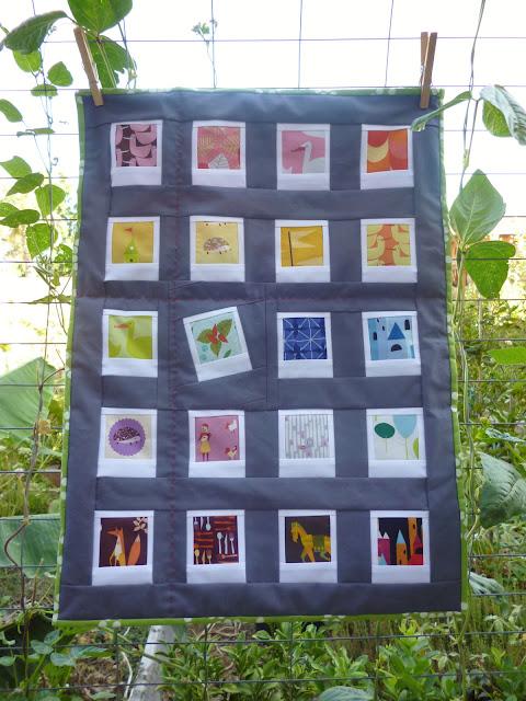 Polaroid quilt mini