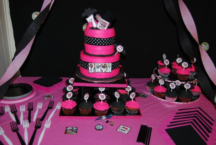Decoracio  N De Fiestas De Monster High 18
