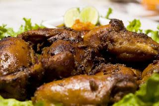 menu buka puasa ayam bakar