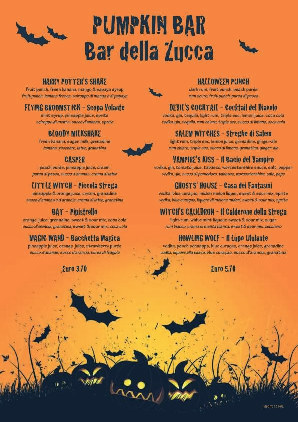 despite its gruesome name the bloody milkshake sounds delicious - Halloween Punch Names