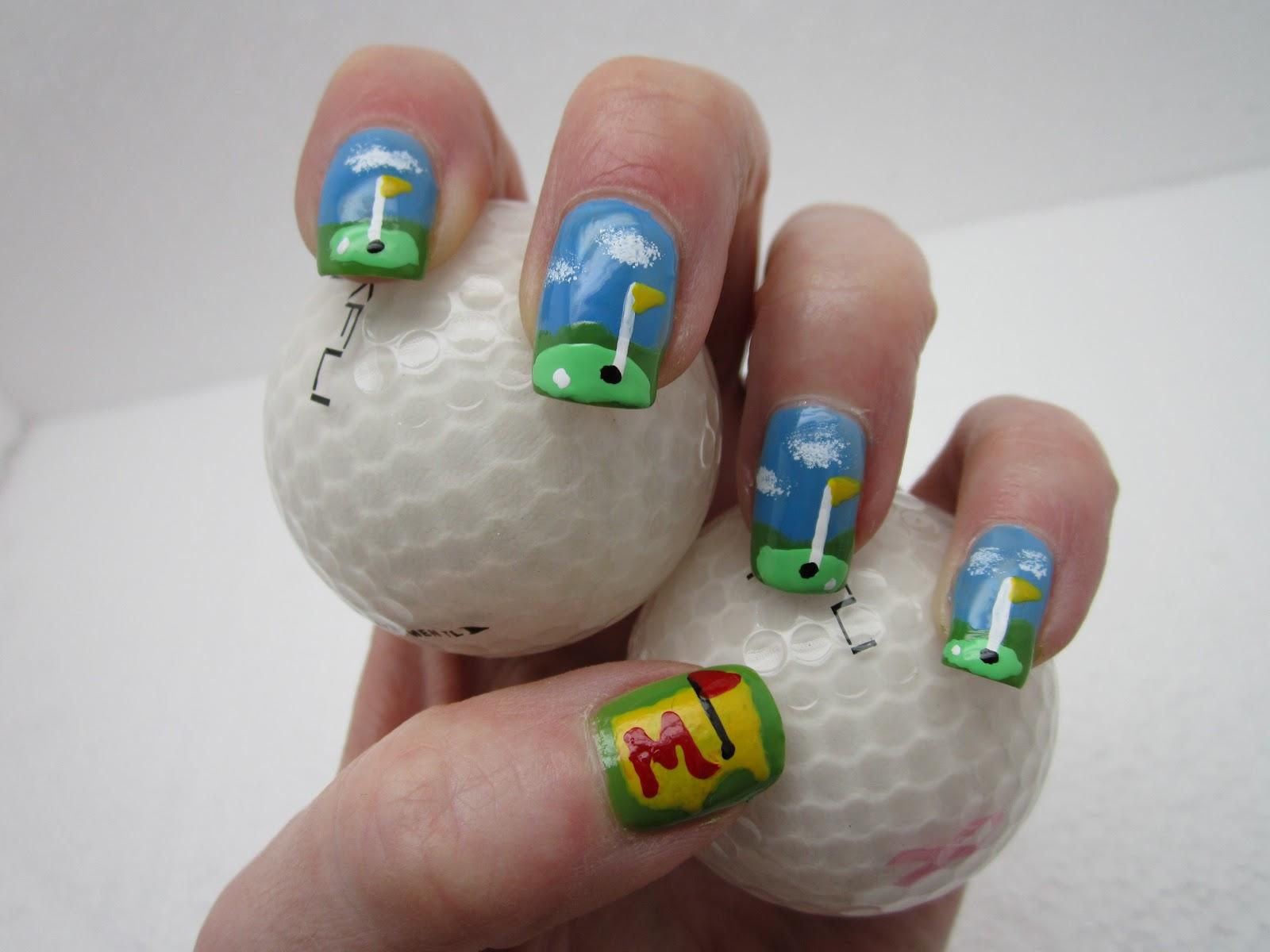 Creative Nail Design By Sue The Mastersgolf