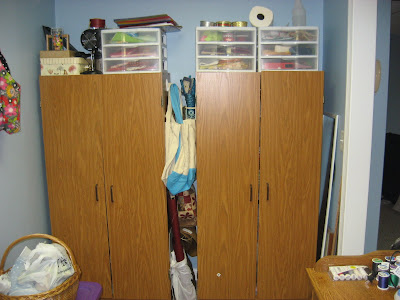 Sewing Room Clean-up 2011 is Complete!