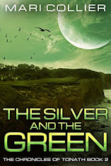2018 July Book Cover Contes Winner: The Silver and The Green