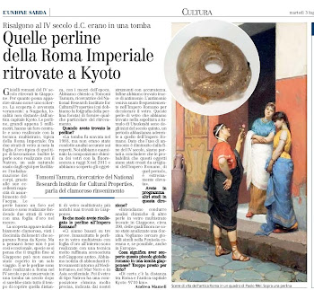 Quelle perline della Roma Imperiale ritrovate a Kyoto
