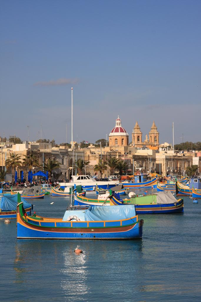 Malta island ocean marine