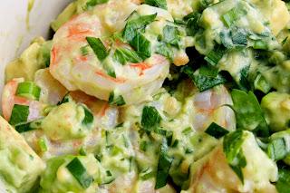 Shrimp Salad with Chili tomato Vinaigrette Recipe   Healthy Seafoods Recipe