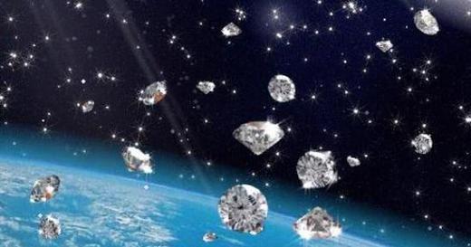 jupiter ploaie de diamante