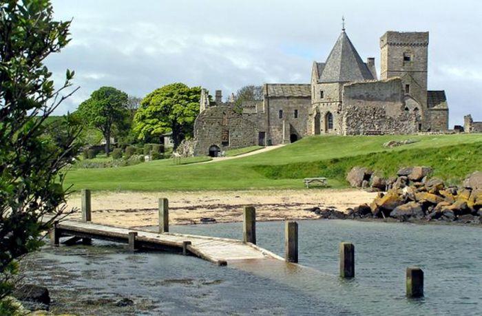 Trabajo en castillo abandonado en Escocia