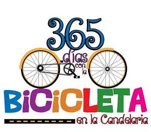 Logo: 365 Días con la bicicleta en La Candelaria