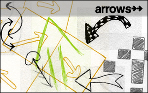 Pinceles de flechas divertidas para Photoshop