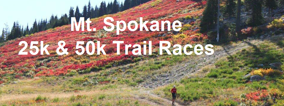 Mt Spokane 50k/25k