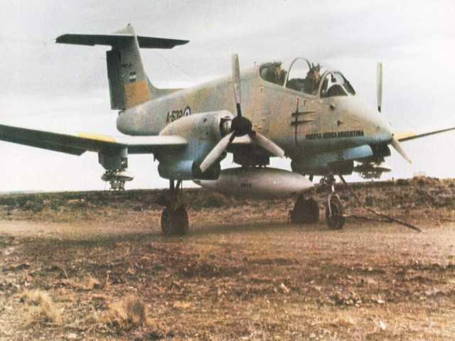 Aeronaves que participaron en la contienda. 009