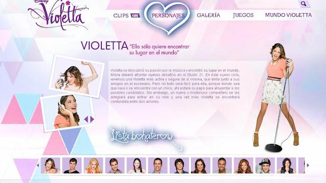 Violetta | Disney Channel PL | Disney PL