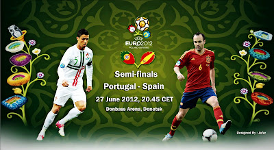 Keputusan Portugal Vs Sepanyol Euro 2012 | Sepanyol Mara Ke Final Euro 2012