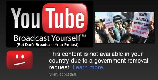 Censorship On Youtube