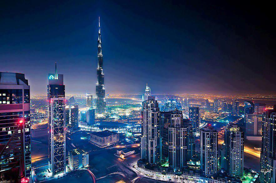 Burj Khalif Dubai Uae Most Beautiful
