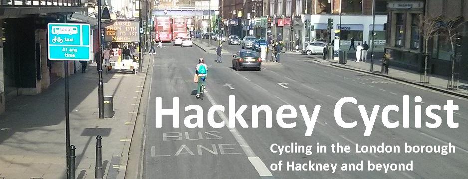 Hackney cyclist