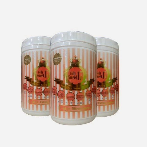 COLLY SWEET 17 K Colly No 1 Whitening Supplement