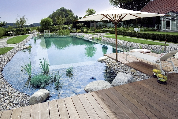 Outdoor natural pool  Natural Swimming Pools | Bella Terra