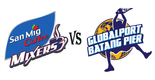 watch pba san mig coffee mixers vs globalport batang pier video watch