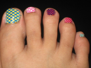 Little Girls Manicures and Nail Art