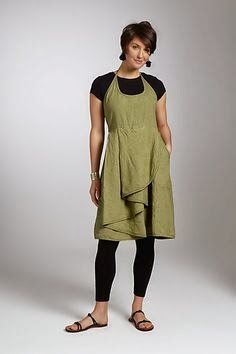 Artful Home Linen Dress