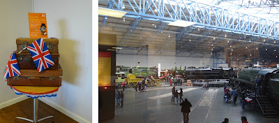 York, National Railyway Museum, half term activity