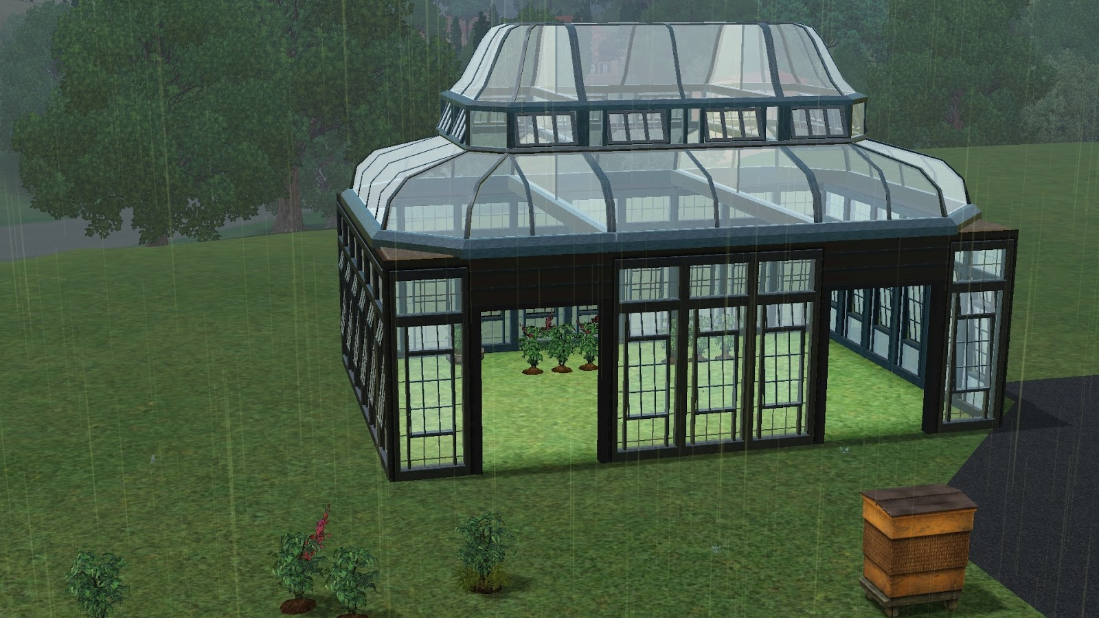 A Simulated Life How To Build A Sims 3 Greenhouse