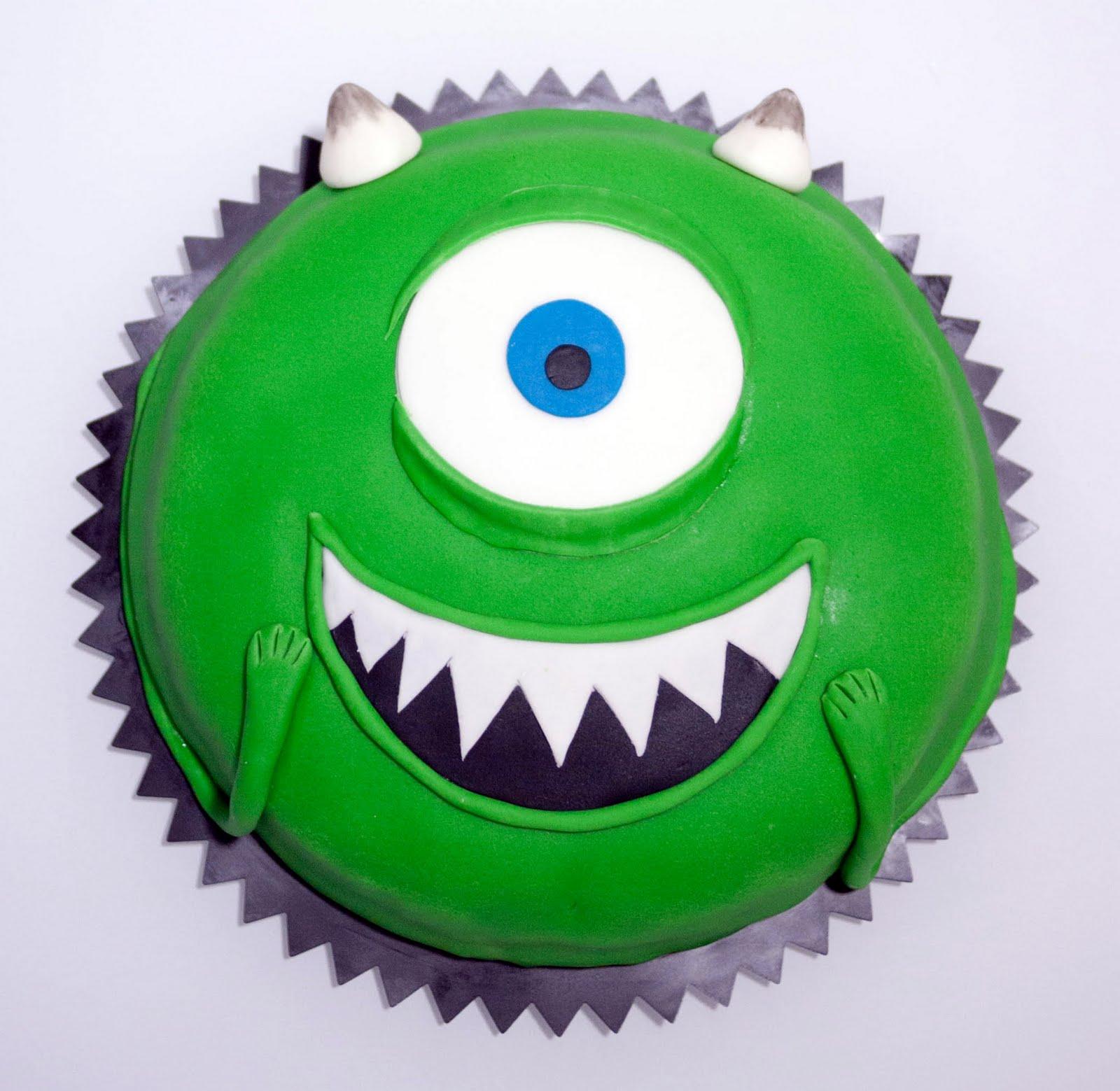 No sin mis hijos: Cómo hacer una tarta fondant de Mike Wazowski ...