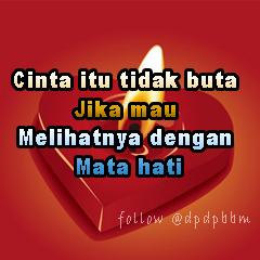 Gambar Kata-Kata Cinta Untuk DP BBM yang Romantis