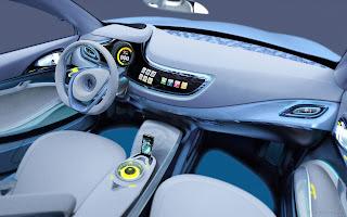 Renault Fluence ZE Concept Interior
