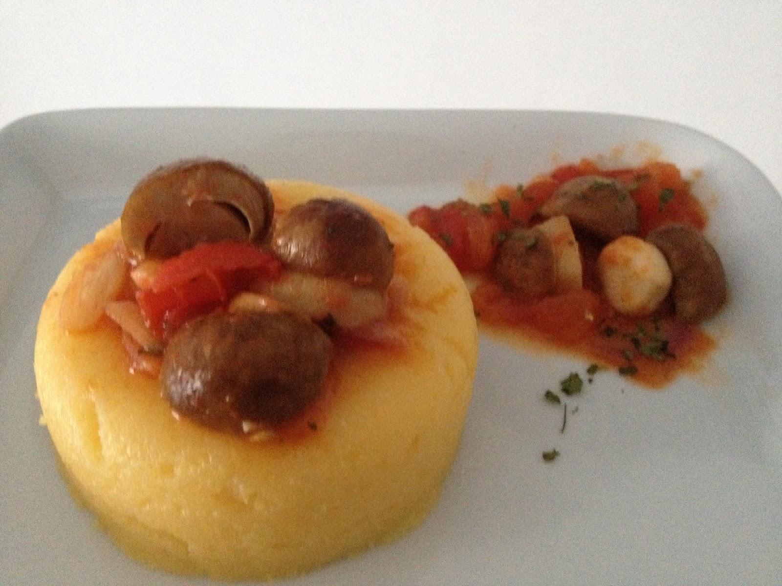 Porcini Polenta Recipe — Dishmaps