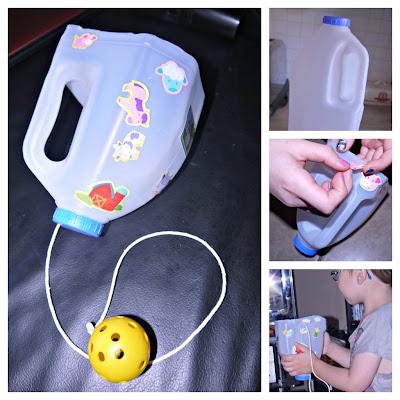 milk bottle, re-use