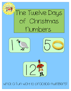 https://www.teacherspayteachers.com/Product/Twelve-Days-of-Christmas-Numbers-1560661
