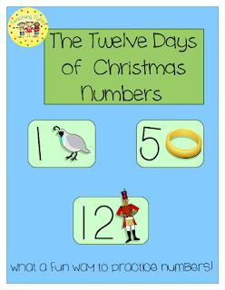 https://www.teacherspayteachers.com/Product/Twelve-Days-of-Christmas-Numbers-1560661