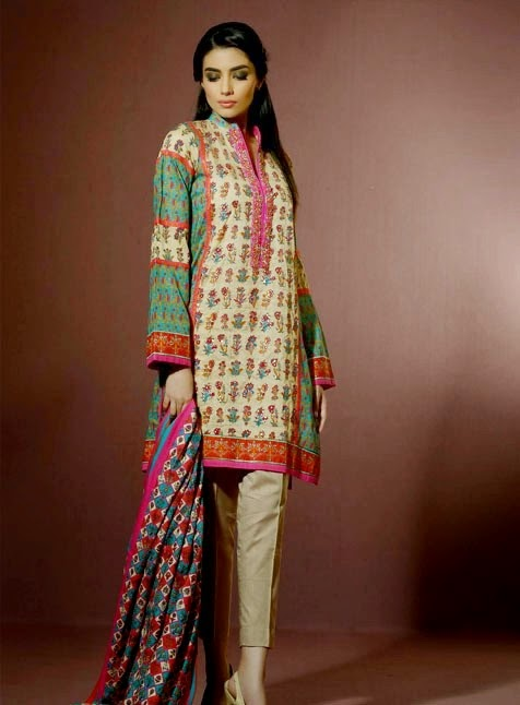 Eid Festival Dress Designs by Alkaram