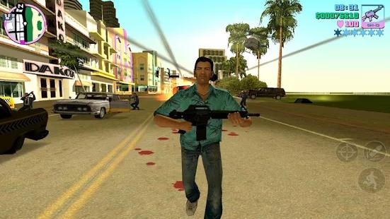 Grand Theft Auto Vice City v1.07 Mod Apk Data