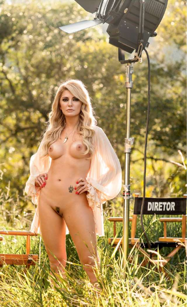 Veja As Fotos De Antonia Fontenelle Nua Na Playboy Julho