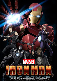Iron Man: Rise of Technovore (2013) Online
