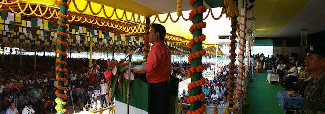 Bimal Gurung in Kalimpong announced fresh Gorkhaland agitation without strike