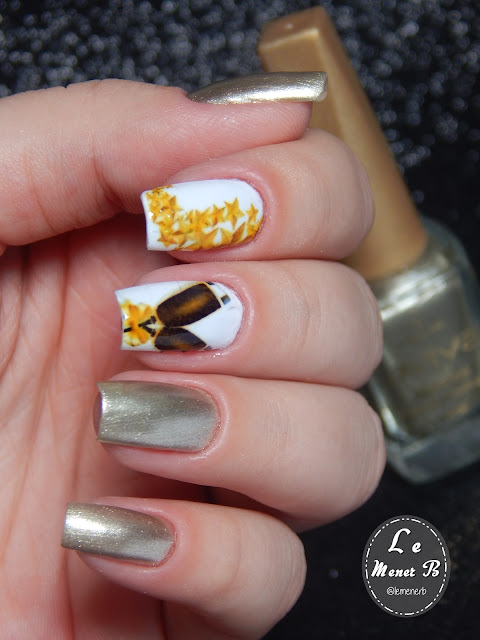 nail art new year